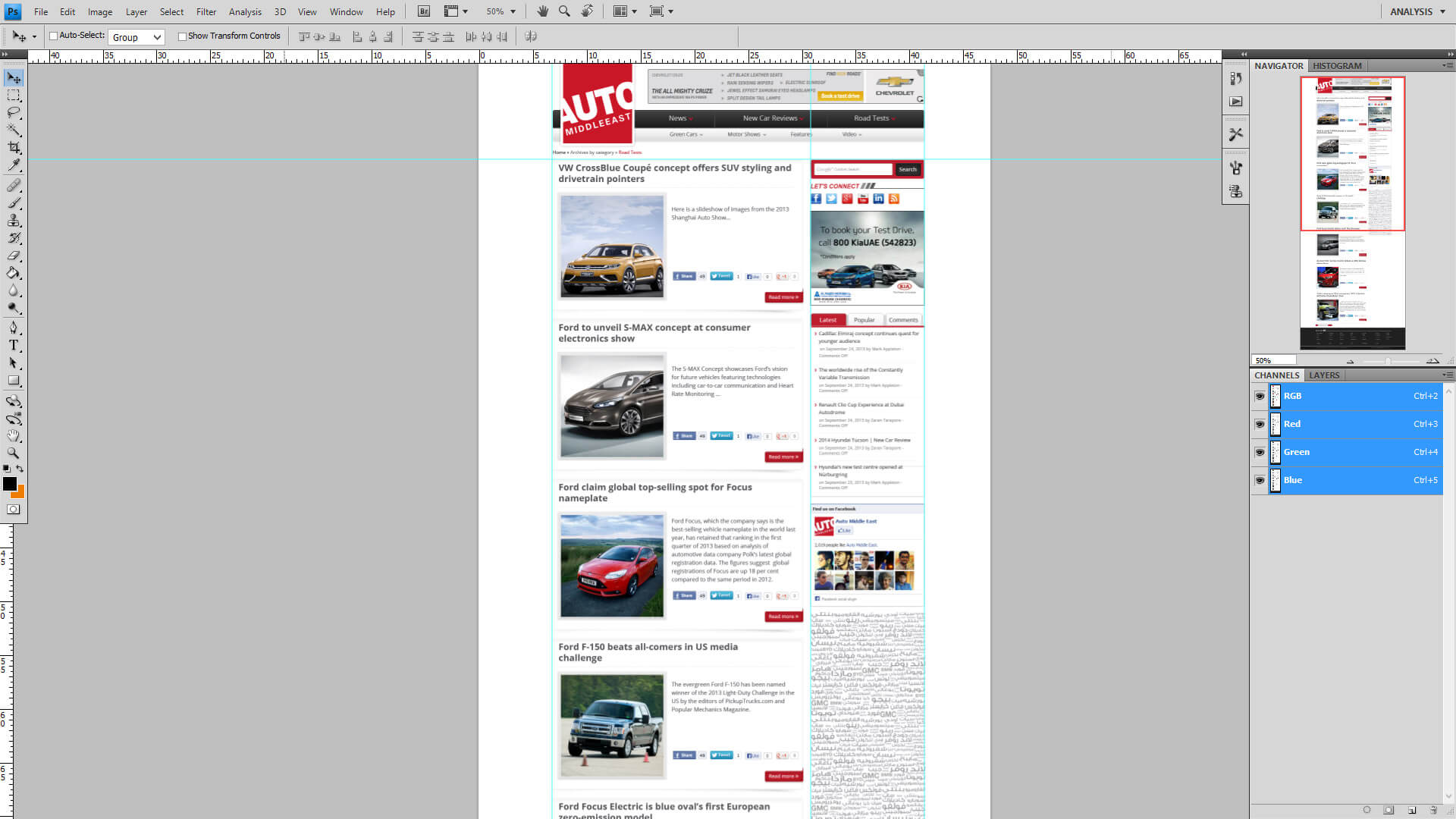 automiddle east inner page design