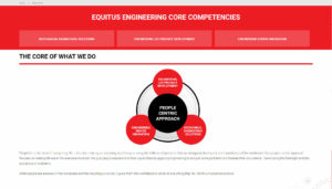 Equitus Engineering the core of what we do