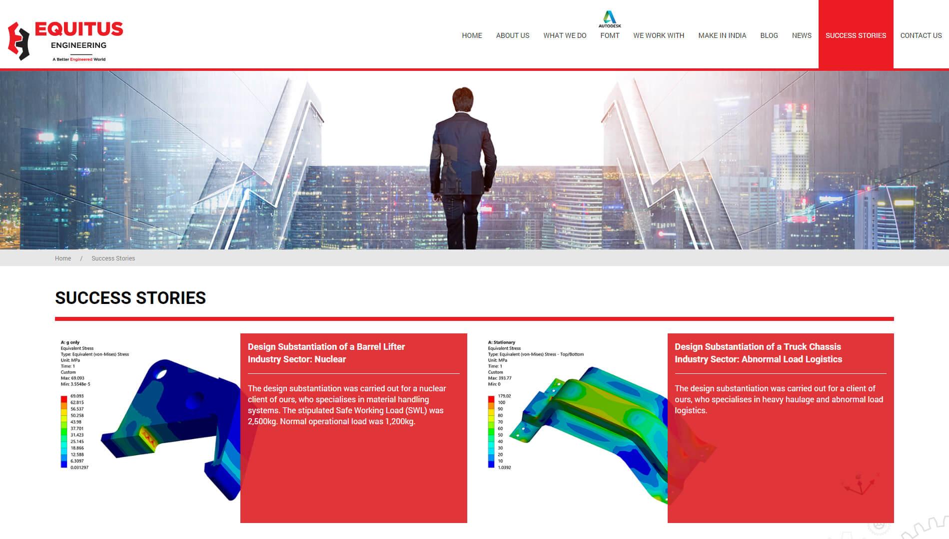 equitus engineering success stories design 2018